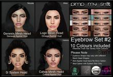PMS - Eyebrows Set #2