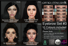PMS - Eyebrows Set #3