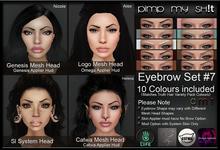 PMS - Eyebrows Set #7