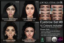 PMS - Eyebrows Set #8