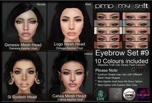 PMS - Eyebrows Set #9