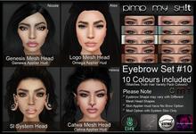 PMS - Eyebrows Set #10