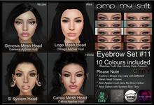 PMS - Eyebrows Set #11