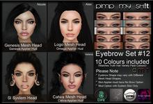 PMS - Eyebrows Set #12