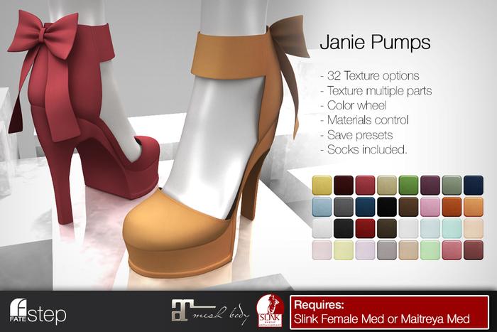 FATEstep - Janie Pumps