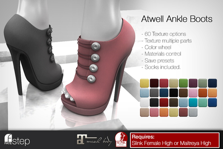 FATEstep - Atwell Ankle Boots