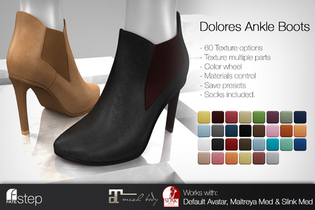 FATEstep - Dolores Ankle Boots