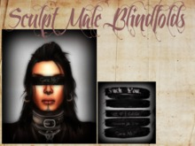 BD- Male Blindfolds (Sculpt, Partial Mesh)