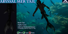 Abyssal Mer Tail - DUSK