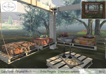 .:Bee Designs:.Boho pergola- Box