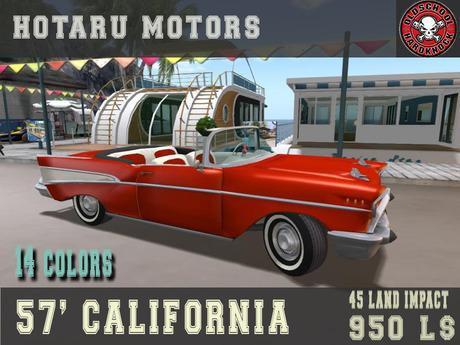 HOTARU MOTORS -  57' CALIFORNIA [BOX]