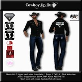 Country Couture Cowboy Up Outfit