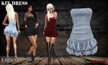 B BOS -Kit Dress-Jeans Bleach-