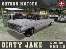 HOTARU MOTORS - Dirty Jane