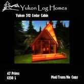 The Yukon Cedar Log Cabin