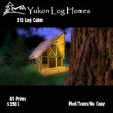 Log Cabin - The Yukon 512