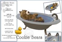 "Sway`s Cookie Bear ""Bath Tub"""