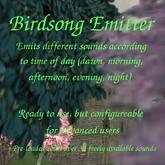 YavaScript birdsong (ambient sounds) emitter