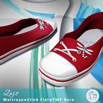Slipper - Zoie Sneakers Red