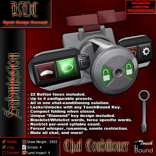 KDC Chat Conditioner