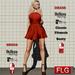 :: FLG Jacke Mini Dress & Shoes + HUD 10 Models ::