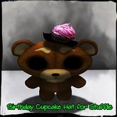 Birthday Cupcake Hat for Stufflie