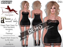 [VM] Aria DEMO - Fitted Mesh Tube Dress for Slink Physique, Hourglass, and Maitreya