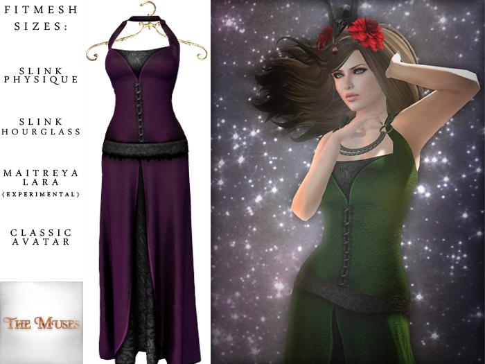 The Muses ~ Bellatrix . Purple
