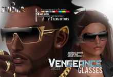 [STUD INC.] - Vengeance Glasses (ADD ME TO UNPACK)