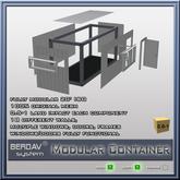 BERDAVsystem - Modular Container