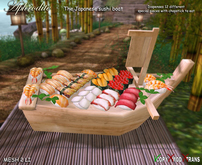 Aphrodite Special Japanese Sushi boat
