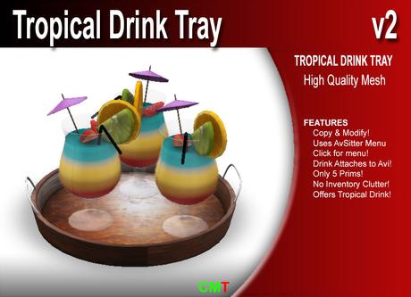 Tropical Drink Tray v2    Copy!!