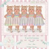 CCC Caitriona - Yellow {Baby & Kid TD}