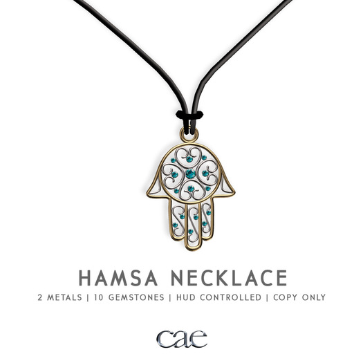 Cae :: Hamsa :: Necklace [bagged]