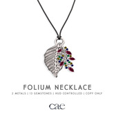 Cae :: Folium :: Necklace [bagged]