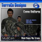 TerraCo Camo Uniform (Multi)