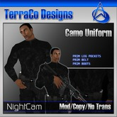 TerraCo Camo Uniform (Night)