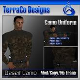 TerraCo Camo Uniform (Desert)