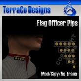 TerraCo Rank Pips (Standard, Admiral)