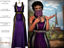 The Muses ~ Sweet Water . Gold/Purple