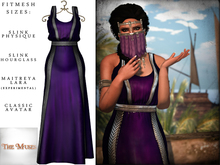 The Muses ~ Sweet Water . Silver/Purple