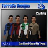 Futuristic Civilian Outfit Style 01 (Vol 1)