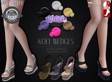 Violetility - Koel Wedges [FATPACK]