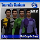 Futuristic Civilian Outfit Style 01 (Vol 2)
