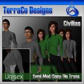 Futuristic Civilian Outfit Style 03 (Vol 2)
