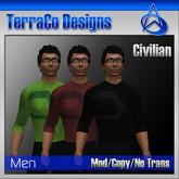 Futuristic Civilian Outfit Style 04 (Vol 1)