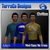 Futuristic Civilian Outfit Style 04 (Vol 2)