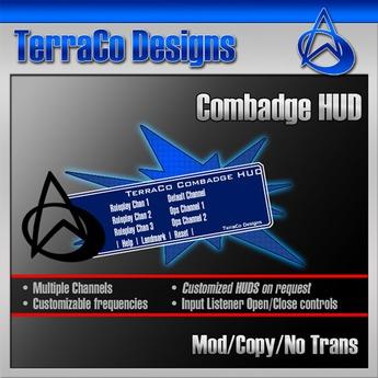 TerraCo Combadge HUD