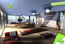 inVerse® MESH -SEATTLE full furnished modern  mesh  skybox