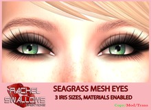 RSC WICKED EYES ~ SEAGRASS EYES